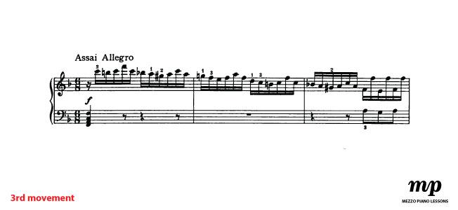 Third movement- Allegro Assai|Mezzo Piano Lessons