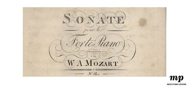Mozart Sonata in F k332