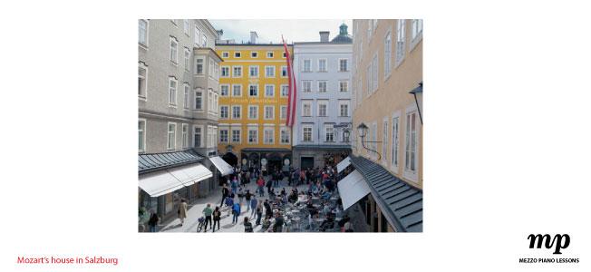 Mezzo Piano Lessons sydney|mozart House Salzburg